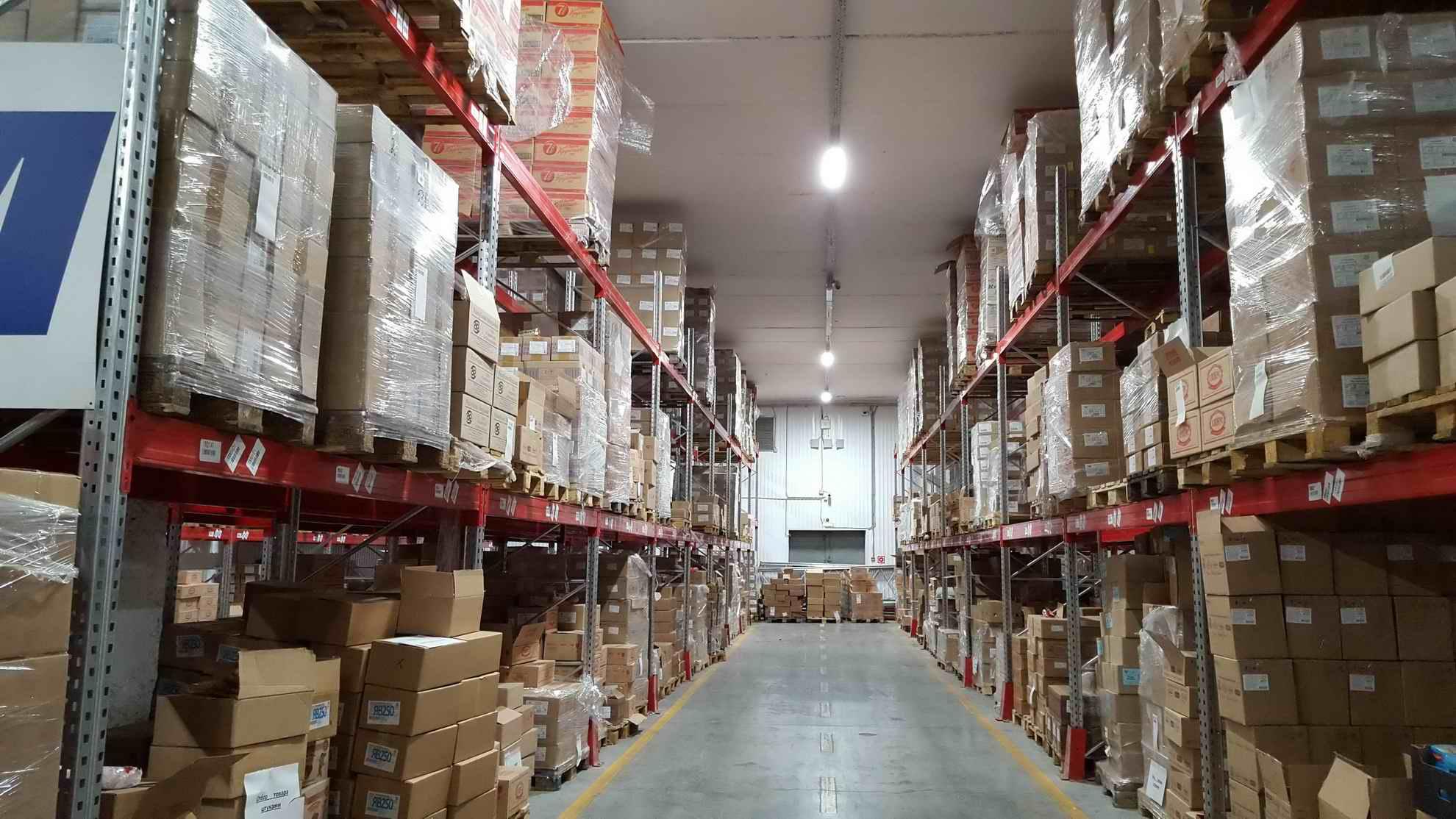 инструкция по хранению и размещению складских товаров